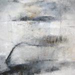 Moorlandschaft, 120 x 100 cm, Öl auf Leinwand