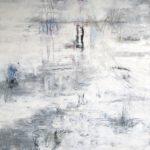 Moorlandschaft I, 120 x 100 cm, Öl auf Leinwand