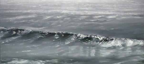 Costa Vicentina III, 100 x 120 cm, Öl und Acryl auf Leinwand