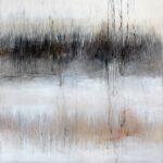 Schilf, 100 x 80 cm, Öl auf Leinwand