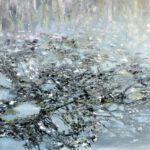Spiegelung, 100 x 120 cm, Öl auf Leinwand