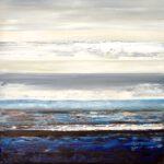 untouched landscape V, 100 x 90 cm, Öl auf Leinwand, 2017