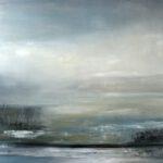 Niemandsland V, 2018, Öl auf Leinwand, 130 x 150 cm