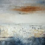 Lichtspiel II, 2019, Öl auf Leinwand, 80 x 120 cm