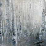 Birkenwald - 2019 - Öl auf Leinwand - 80 x 160 cm