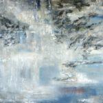 Lichtspiel I, 2019, Öl auf Leinwand, 180 x 140 cm