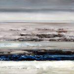 untouched landscape VI, 100 x 90 cm, Öl auf Leinwand, 2017