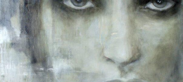 Spiegelbild V, 2016, Öl auf Leinwand, 150 x 120 cm