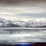 Nordmeer - 2019 - Öl auf Leinwand - 80 x 70 cm