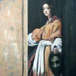 Judith I – 2019 – Öl auf Leinwand – 100 x 90 cm