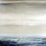Atlantik I - 2020 - Öl auf Leinwand - 180 x 140 cm