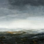 Bale mountains III - 2020 - Öl auf Leinwand - 90 x 120 cm