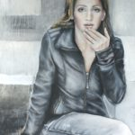 Brigitte – 2018/20 – Acryl/Öl auf Leinwand – 120 x 100 cm