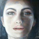 face I – 2020 – Öl auf Leinwand – 130 x 110 cm