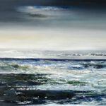 Atlantik II - 2020 - Öl auf Leinwand - 100 x 120 cm