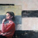 Alessandra, 2014, Acryl auf Leinwand, 100 x 120 cm